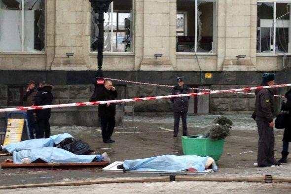 Efe recuerda que Volgogrado ya fue escenario el pasado 21 de octubre de...