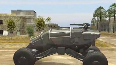 El Ground X es la visión de un blindado del futuro del Pentágono. (Foto:...