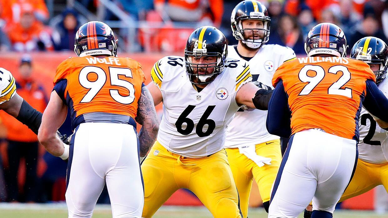 David DeCastro de los Steelers se convirti³ en el segundo