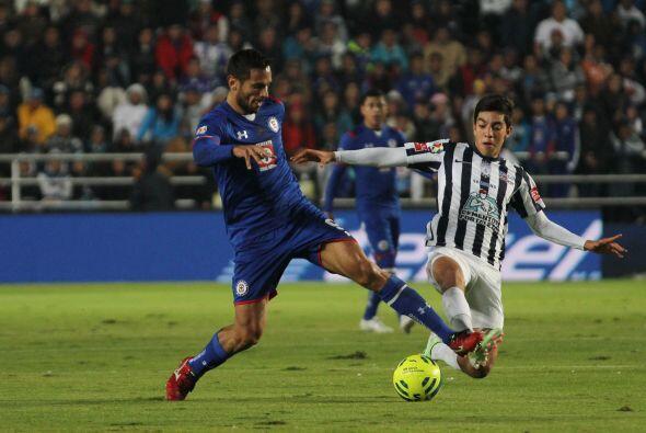 El paraguayo llegó con pocos días para adaptarse procedente del Málaga y...