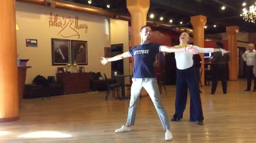 """Diego Guirado ya está listo para la competencia de baile """"Da..."""