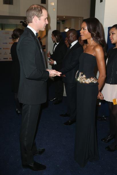 Los duques de Cambridge asistieron a la premiere de la película 'Mandela...