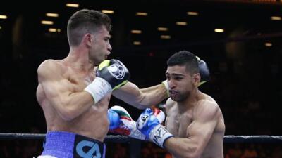 Amir Khan derrotó a Chris Algieri.