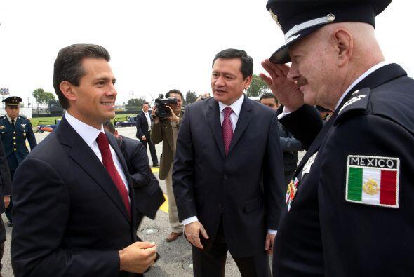Peña Nieto demandó que en el deber del Estado de combatir al crimen orga...