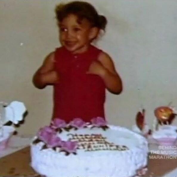 Jennifer Lopez de niña Pequeños Gigantes USA
