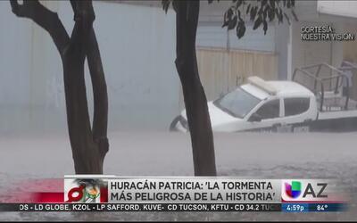 El ojo del #HuracanPatricia toca tierra en Jalisco
