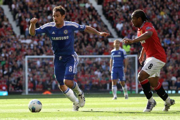 Chelsea intentaba reaccionar, pero sus oportunidades eran menos.
