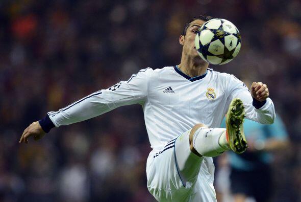 En la segunda parte Cristiano desapareció hasta el minuto final.