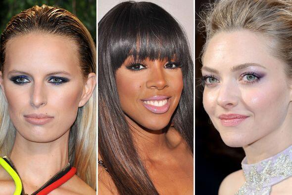Las famosas ya llevan lo último en tendencias de maquillaje para primave...