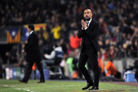 Se notaba la preocupación de Guardiola, pero su equipo sigui&oacu...