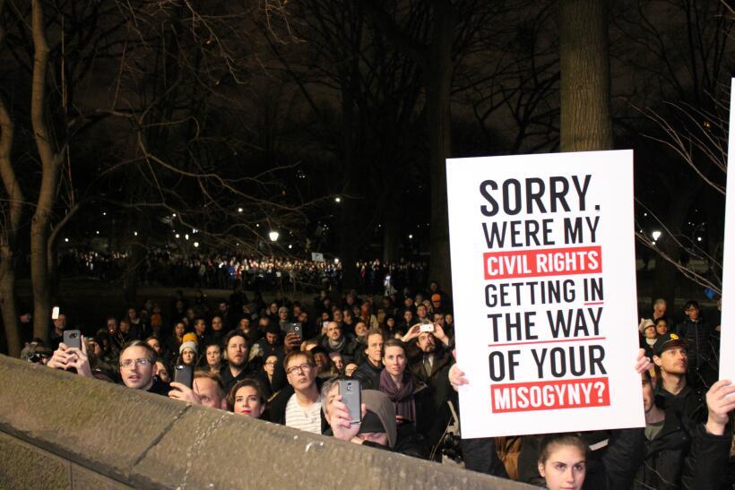 El rally We Stand United envió un mensaje colectivo a la nueva ad...