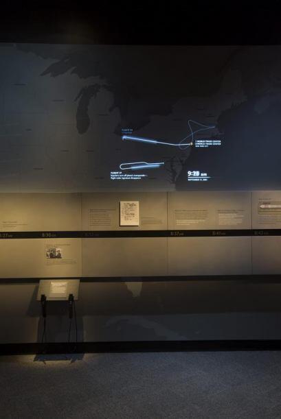 Imagen que muestra la trayectoria de los aviones que participaron en el...