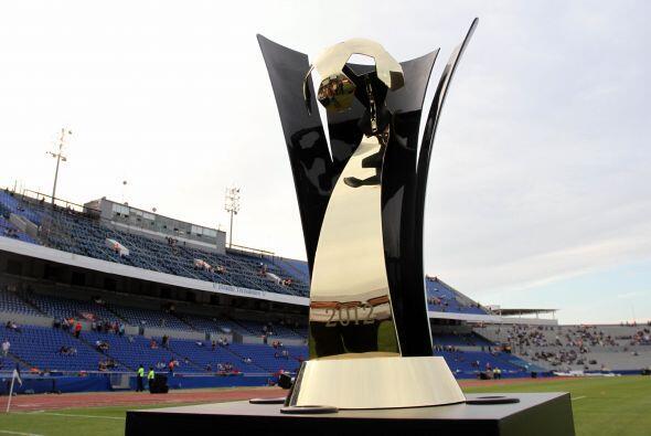 La final de la Concacaf Liga de Campeones entre el América y el M...
