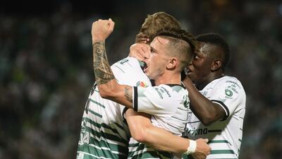 En fotos: Santos remontó y venció 2-1 a Toluca en la ida de la final del Clausura 2018