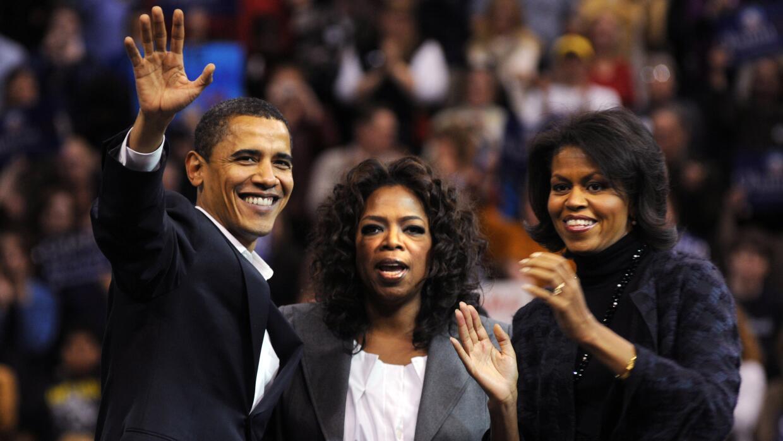 Política Oprah Winfrey Obamas