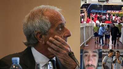 """Presidente de River Plate 'justifica' agresión al autobús de Boca: """"Los jugadores hicieron gestos"""""""