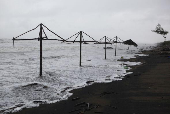 La situación es difícil para Veracruz porque sus suelos se encuentran sa...