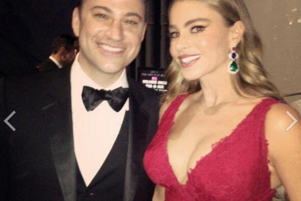 Junto a Jimmy Kimmel, con quien presentó una terna. Mira aquí lo último...
