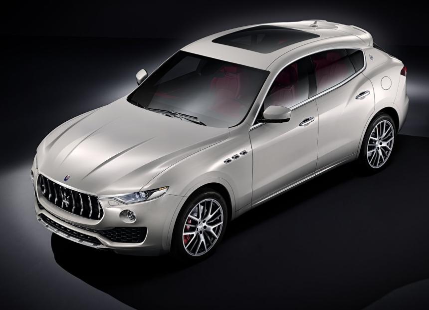 Las línea de la Maserati Levante 2017 replican las del resto de l...