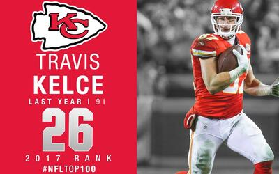 #26: Travis Kelce (TE, Chiefs) | Top 100 Jugadores 2017