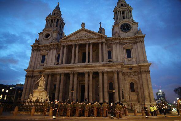 La emblemática catedral de San Pablo, en el centro de Londres, albergará...