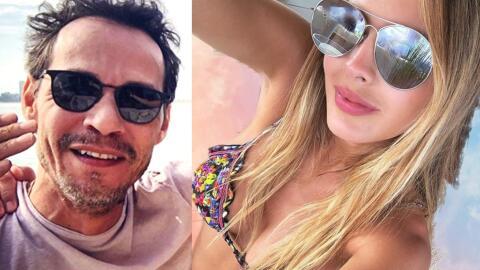 Marc Anthony y Shannon de Lima.