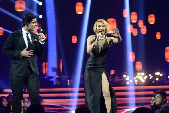 Paloma Carrasco hizo un dueto con Espiridión Magaña la segunda noche.