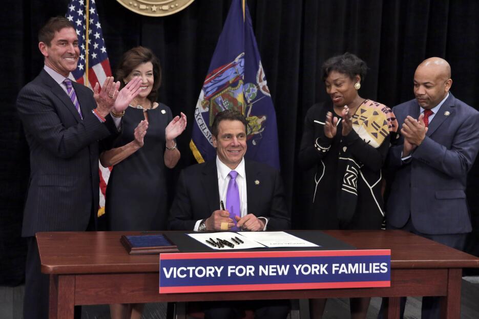 Victoria para familias neoyorquinas.