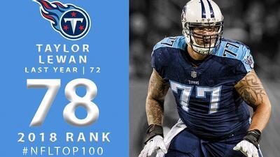 #78 Taylor Lewan (OT, Titans) | Top 100 Jugadores NFL 2018
