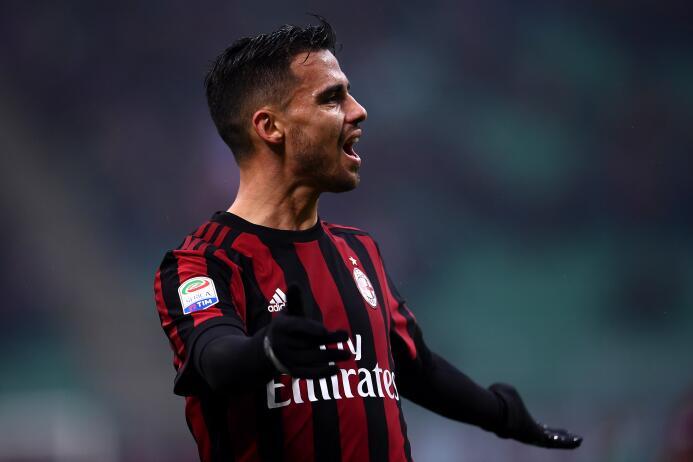 El español Suso, actualmente en el A.C. Milan, vuelve a ser un hombre co...
