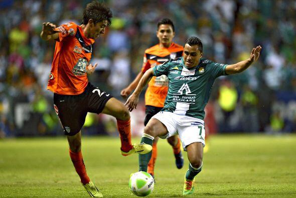 Edwin Hernández (10).- El lateral izquierdo de los 'Panzas Verdes' en de...