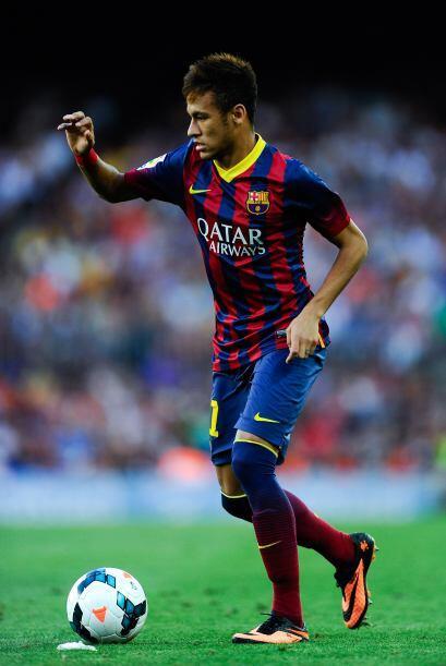 Llegó el debut de Neymar en la Liga al entrar en lugar de Alexis.