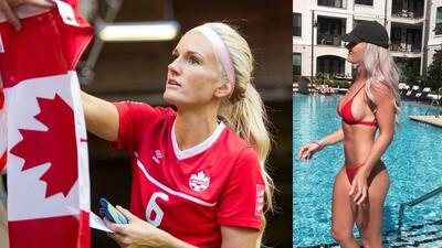 Kaylyn Kyle, la sensual reina del fútbol canadiense que enciende las redes sociales