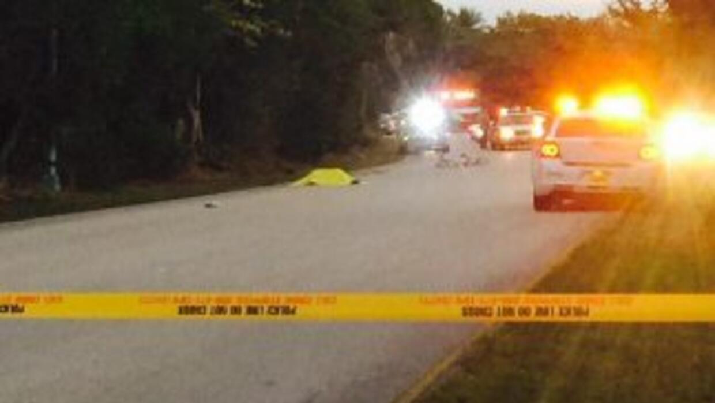Un ciclista murió y otro resulto herido de gravedad tras ser atropellado...
