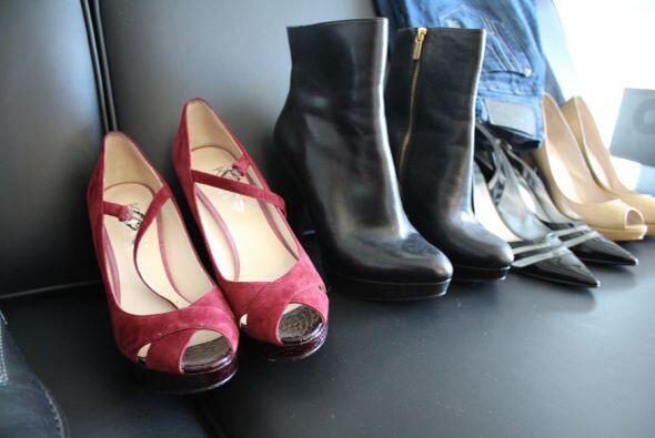 ¿Que fuera de una mujer sin su colección de zapatos?