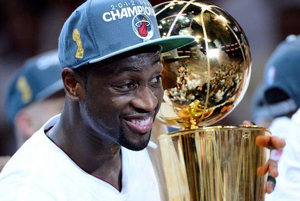 Para Wade, que fue el MVP de las Finales en 2006, este título sabe a más...