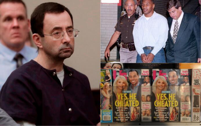 Culpables de violaciones, infidelidades y más escándalos sexuales en el...