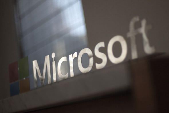 4. MICROSOFT. La tecnología se hace de los primeros puestos. Microsoft e...