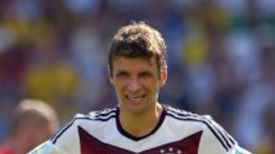 El delantero alemán, Thomas Müller, confía en que su selección saldrá v...