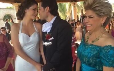 ¡Qué vivan los novios! Oficialmente Ana Patricia y Luis Carlos son marid...