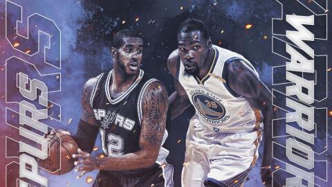 Warriors reciben a los Spurs para el segundo juego de la Final del Oeste.