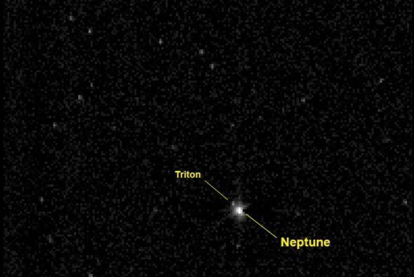 En agosto, New Horizons tomó la orbita de Neptuno, el último planeta que...