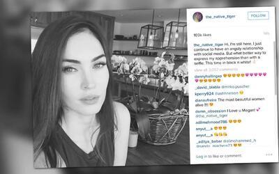 Megan Fox regresa a las redes sociales