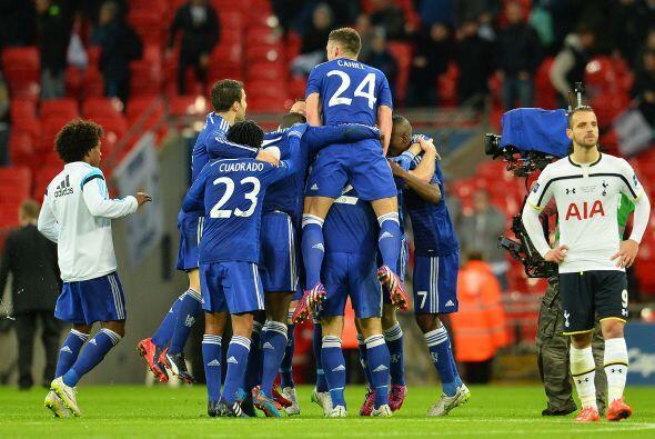 El equipo de Mourinho aumentaba su diferencia en el marcador para casi a...