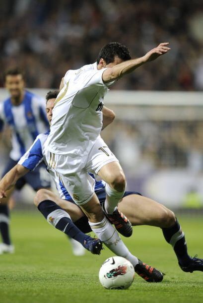 La Real Sociedad no pudo hacer mucho ante un equipo 'blanco' que parece...