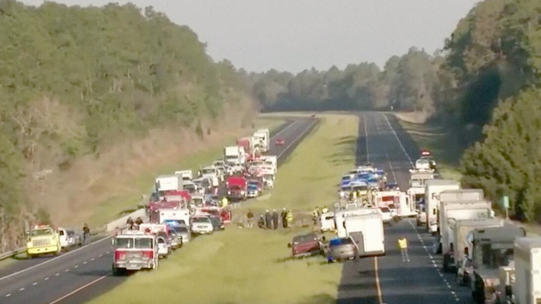 Accidente Autobús Alabama