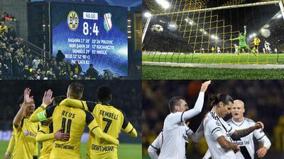 Los detalles del partido con más goles en la historia de la Champions