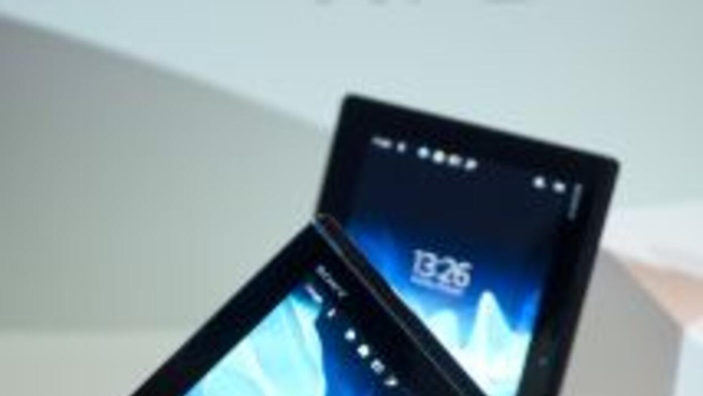 "La tableta ""Xperia Tablet S"", que se incorpora a la familia de dispositi..."