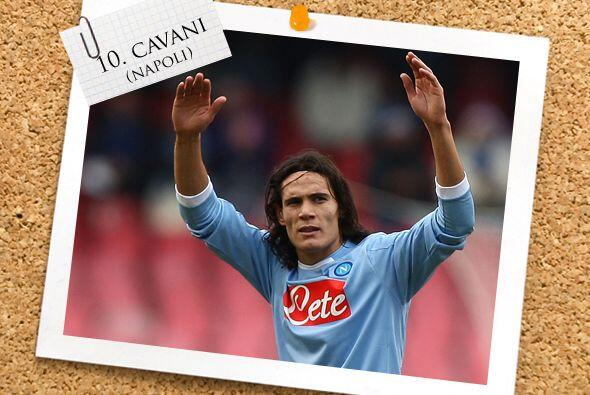 Edinson Cavani es un digno representante de Uruguay en el 'Calcio' y se...