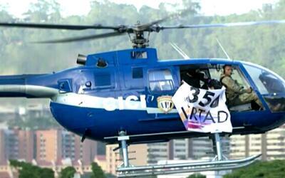 """Maduro dice que fue """"un ataque terrorista armado"""" el sobrevuelo de un he..."""